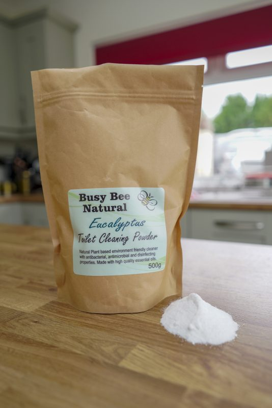 Eucalyptus Toilet Cleaning Powder, Vegan Cleaning Products, Non Chemical Cleaning Products