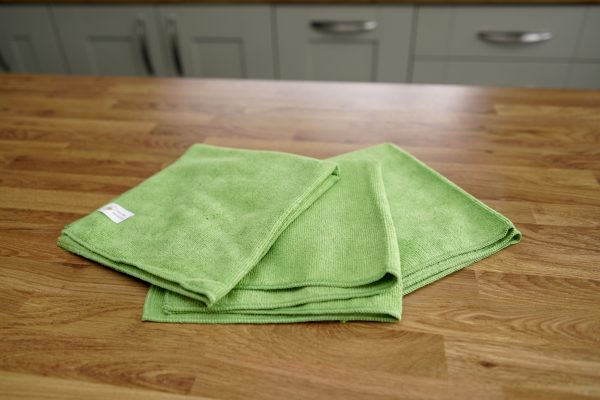 General Purpose Cleaning Cloth Green, Natural Household Cleaners, Eco Friendly Cleaning