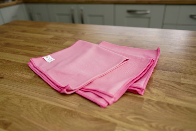 Glass/Buffing Cloth Pink
