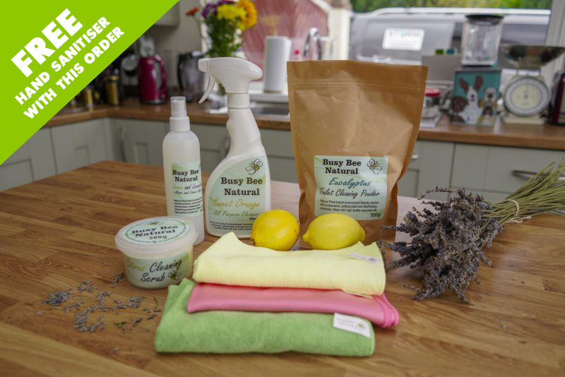 The Ultimate Eco-Friendly Cleaning Kit
