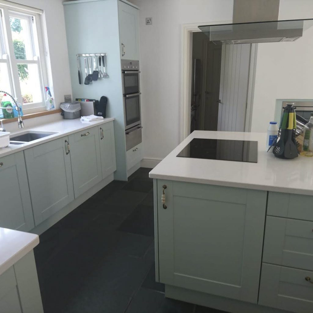 Holiday Cottage Kitchen After Home Cleaning Services, Chemical Free Cleaning, Commercial Cleaning