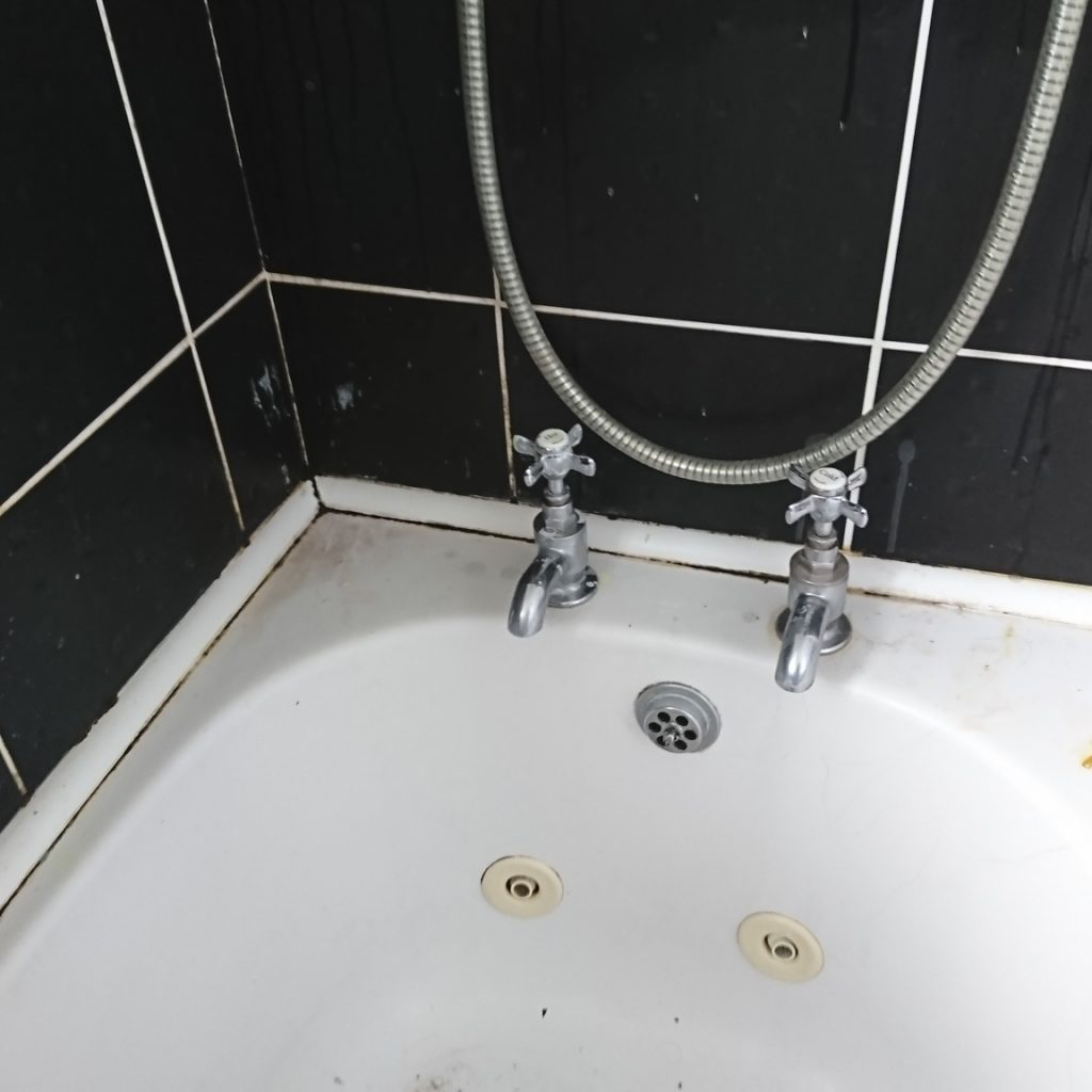 Bathroom Before Deep Cleaning Services, Green Cleaning Services, Natural Household Cleaners