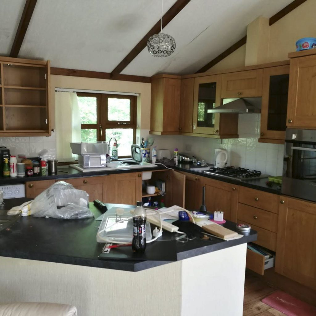 Kitchen Before Deep Cleaning Services, Chemical Free Cleaning, Natural Household Cleaners