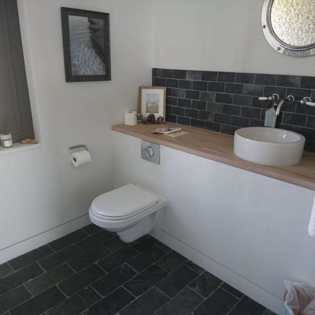 Holiday Cottage Bathroom After Home Cleaning Services, Chemical Free Cleaning, Commercial Cleaning